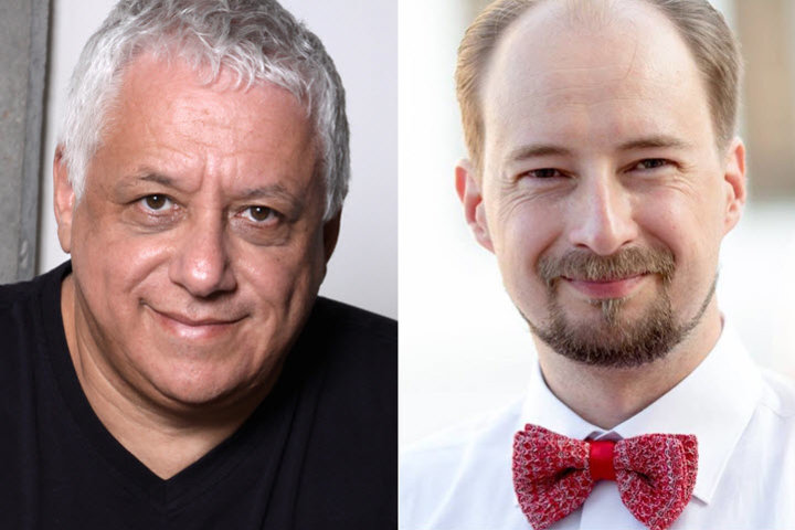 Игорь Рябенький (слева) и Кирилл Голуб