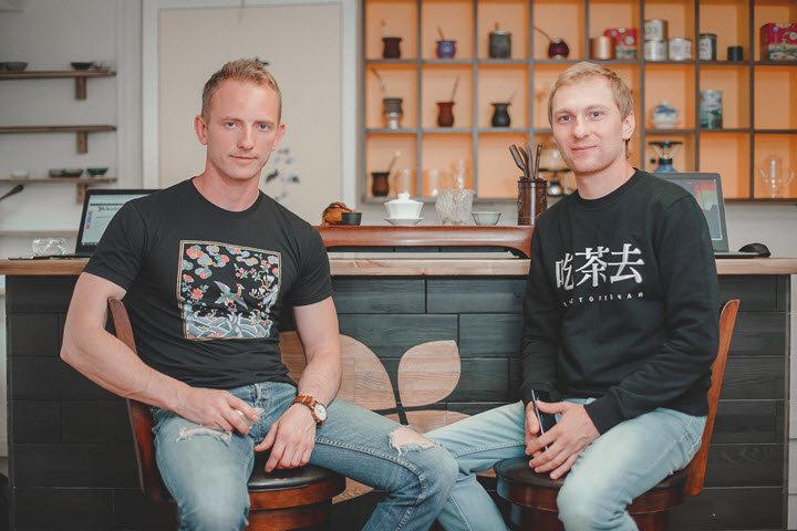 Андрей Чайковский (слева) и Вадим Клишевский. Фото из личного архива