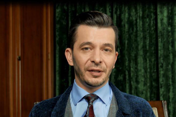 Андрей Курпатов. Скриншот из видеообращение