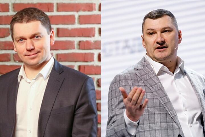 Виталий Волянюк (слева) и Евгений Вяткин