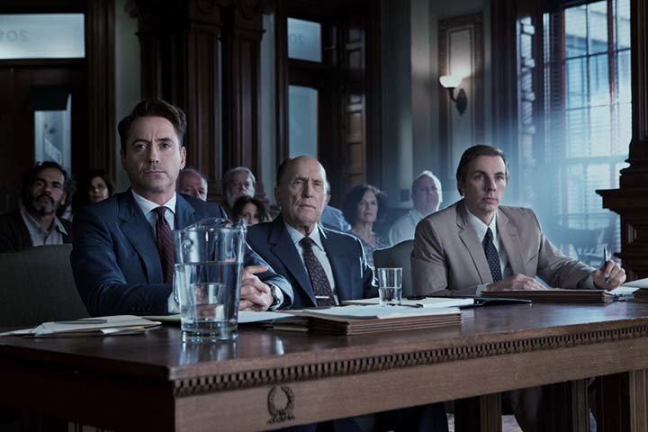 Кадр из фильма «Судья», реж. Дэвид Добкин