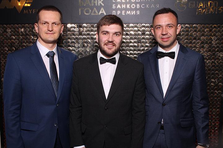 Алескей Паничев, Сергей Аникушин, Роман Кравец. Фото из личного архива