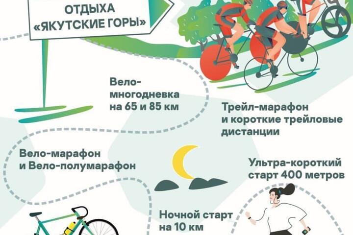 ФОТО: 4 и 5 сентября в парке активного отдыха «Якутские горы» пройдёт марафон Kaspersky Race 2021