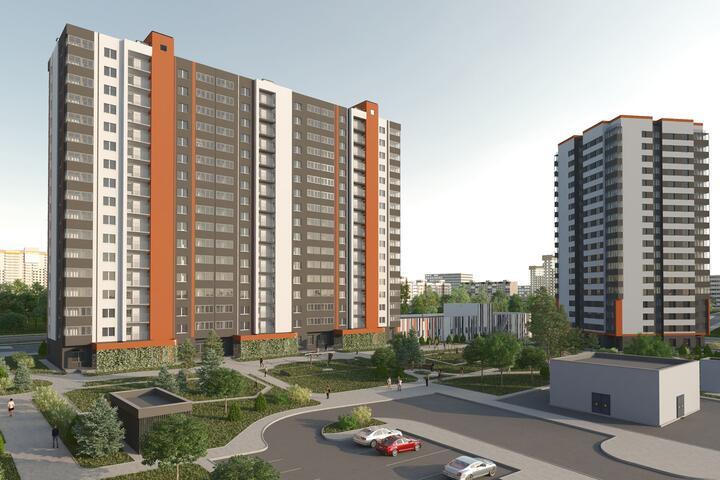 ФОТО: Что строят в районе пр. Дзержинского - квартиры евро-формата в кредит под 9,36%