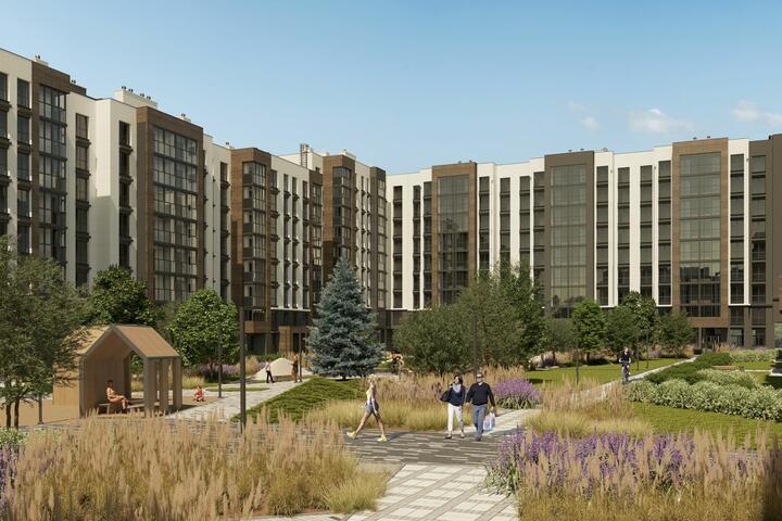 ФОТО: Посмотрите, какие квартиры появились в продаже на берегу Свислочи