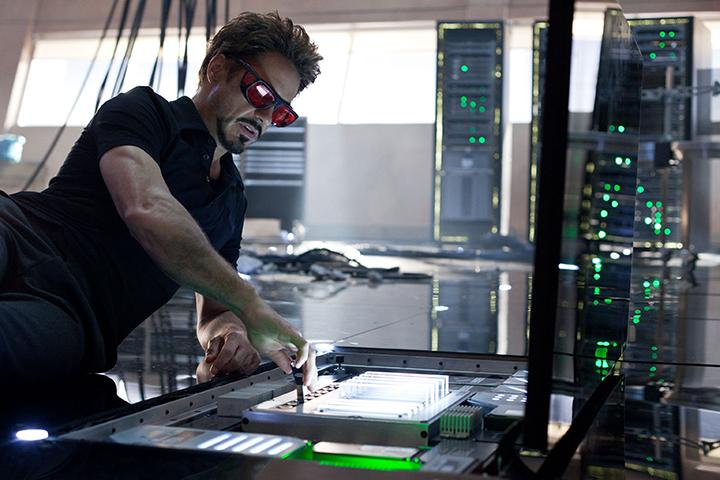 Кадр из сериала «Железный человек 2», реж. Джон Фавро