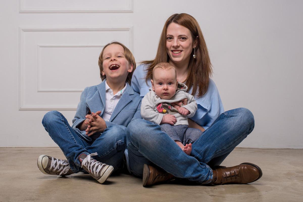 Наталья с детьми. Фото из личного архива