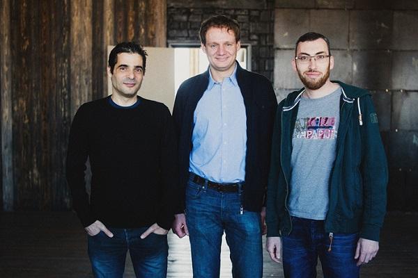 Слева направо: Тальмон Марко, Алексей Минкевич, Игорь Магазинник. Фото: Андрей Давыдчик, dev.by