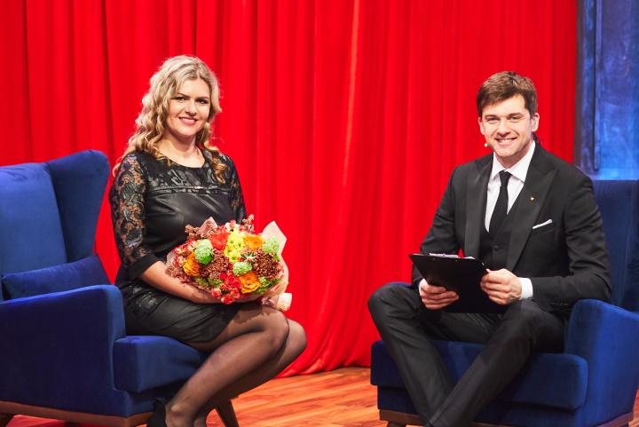 Победитель 4-го розыгрыша Ольга Дубовик в студии «Вечерний ураган призов» поделилась планами на денежный приз