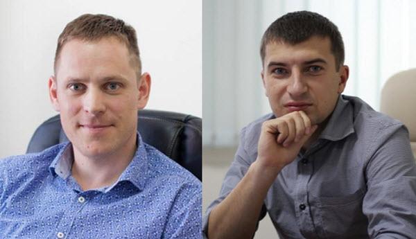 Андрей Гриневич и Сергей Вайнилович. Фото cо страницы Андрея Гриневича на Facebook и new-retail.ru