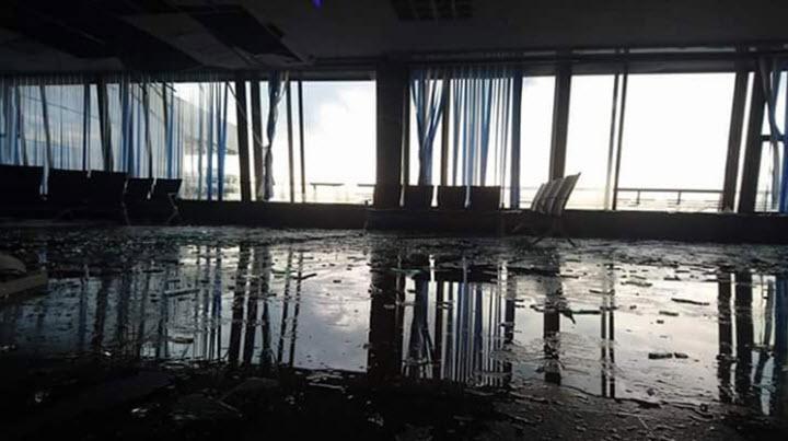 Последствия урагана 13 июля в 2016 в Минске. Фото со страницы пользователя Максим Пушкин в Twitter