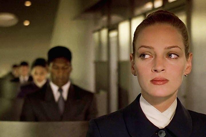 """Кадр из фильма """"Гаттака"""". США, 1997"""