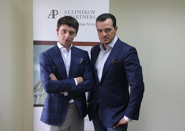 Денис Алейников и Дмитрий Матвеев. Фото предоставлено компанией Aleinikov&Partners