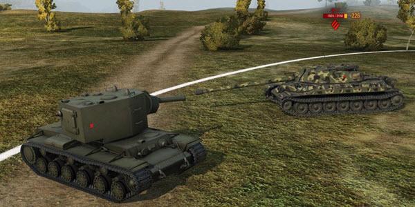 Скриншот кадра игры World of tanks