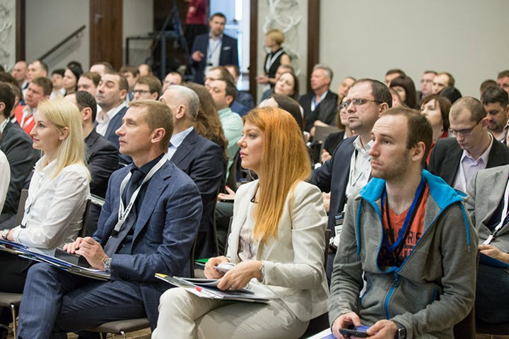 Прошлогодняя конференция «Коммерческая недвижимость: откровенный диалог.». Фото: Алексей Пискун, probusiness.by