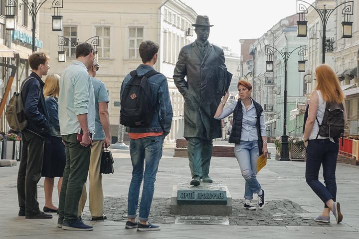 Экскурсия в Москве. Фото с сайта dommuseum.ru