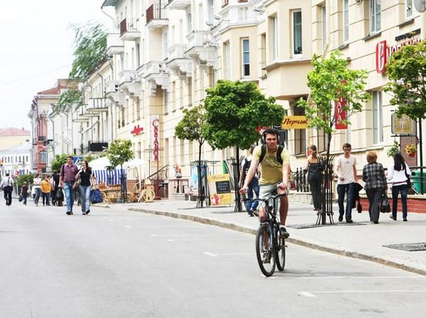 Ул. Карла Макрса. Фото с сайта minsknews.by