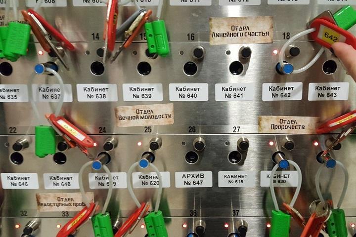 Стенд с ключами в компании ЛАНИТ. Фото со страницы корпоративного блога компании на habrahabr.ru