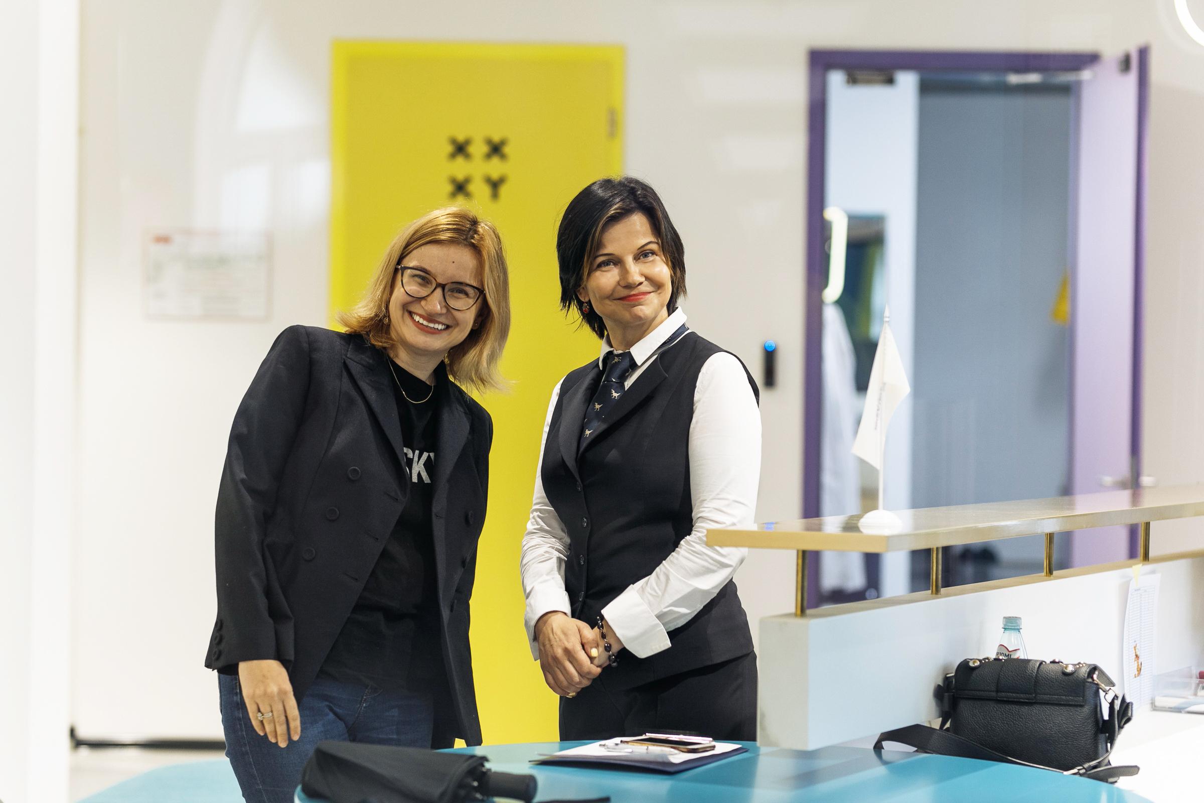 Мария Гвардейцева (слева) и Ольга Прокопьева. Фото предоставлено авторами
