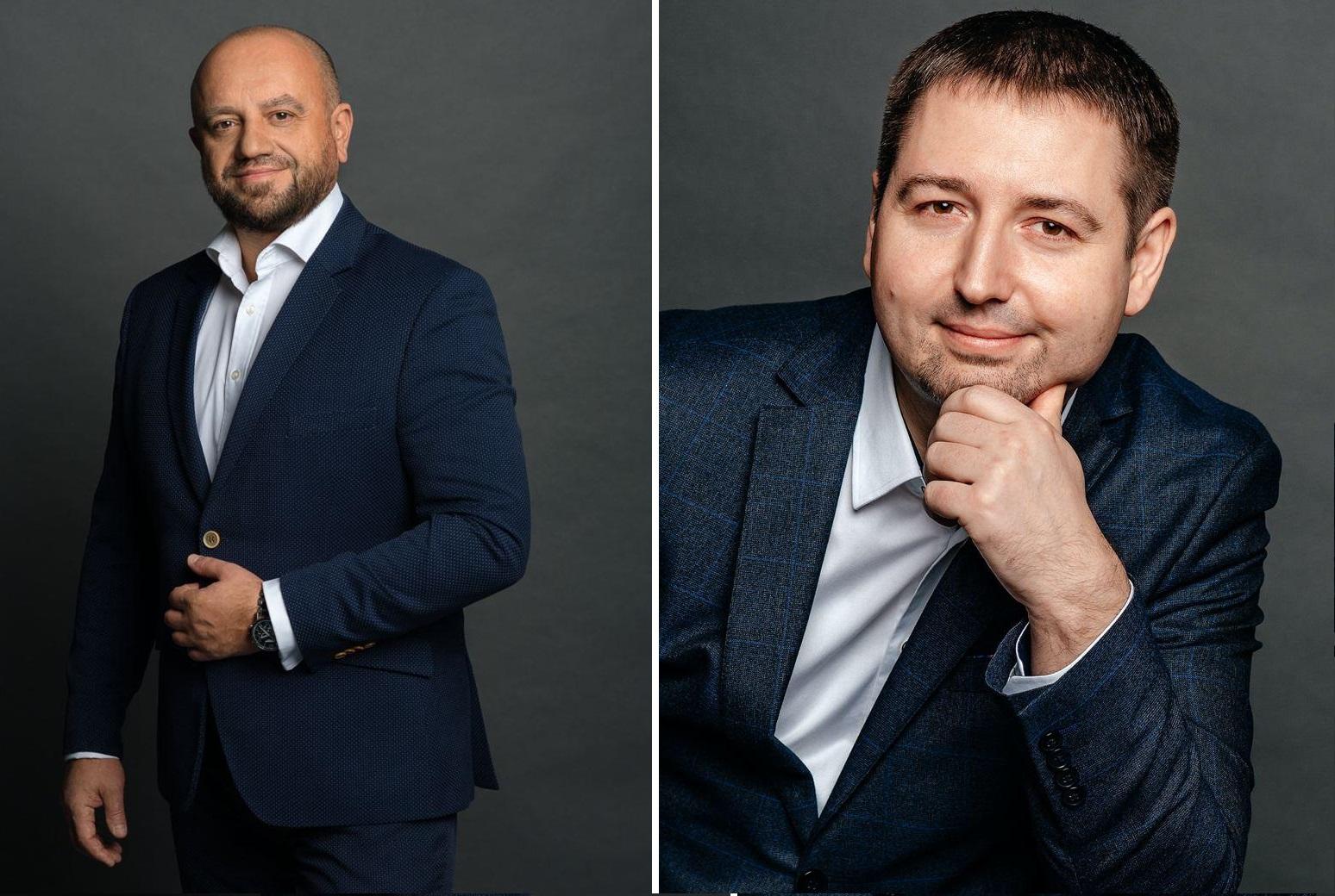 Павел Соломеник и Гаврилов Павел, интерим-менеджеры