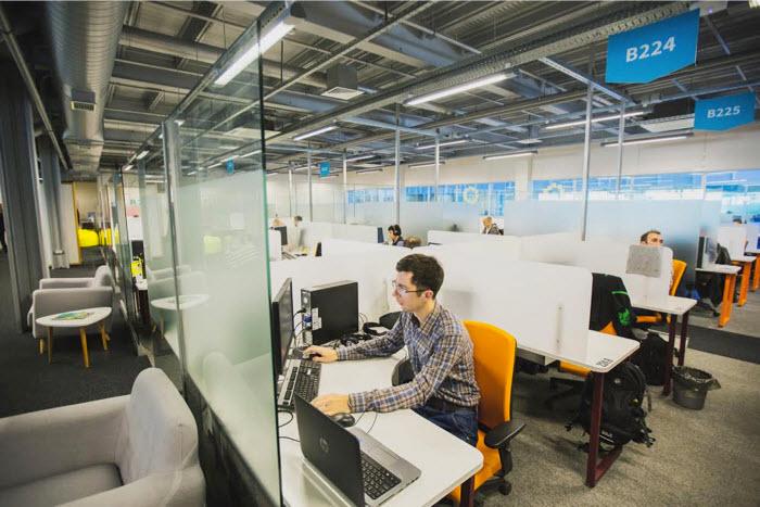 Новый офис EPAM в Минске. Фото: Андрей Давыдчик, dev.by