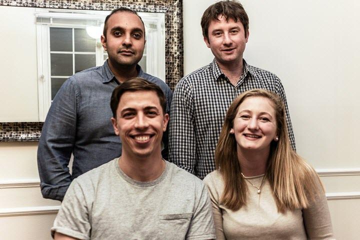 Слева направо: Картик Суреш, Артем Литвинов, Илья Левтов, Элисса Маерклейн. Фото из архива компании