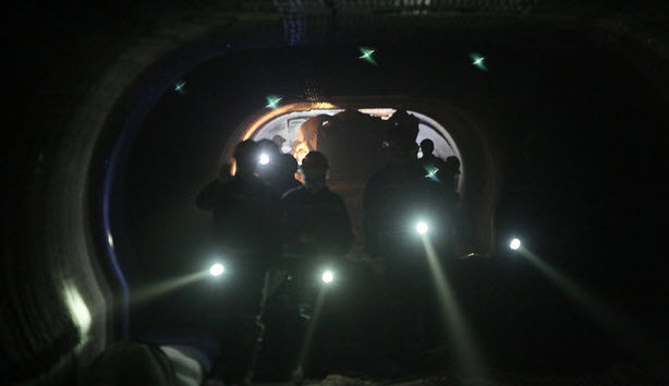 В шахте «Беларуськалия». Фото TUT.BY