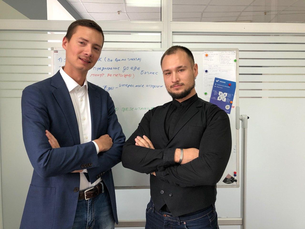 Основатели Win2 Евгений Мозжухин (слева) и Ким Мазур. Фото из их личного архива