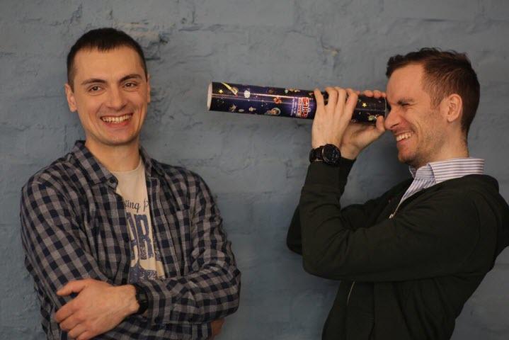 Сергей Панфилов и Антон Семенов. Фото из архива компании