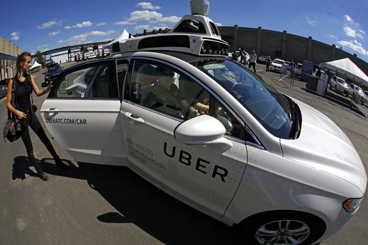 Беспилотный автомобиль Uber. Фото с сайта freenews.world