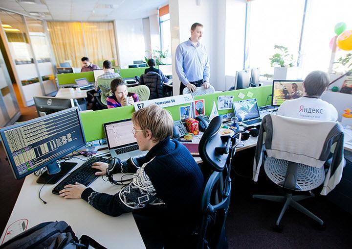 Офис Яндекс в Минске. Фото с сайта citydog.by