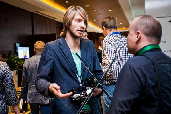 Кирилл Чикеюк на форуме «Бизнес Будущего». Фото probusiness.by