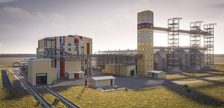 Эскизный проект птицефабрики. Фото предоставлено компанией ASER