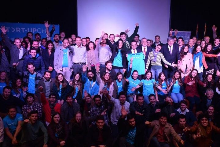 Команды стартапов, которые попали в программу Start-Up Chile 2017. Фото с сайта www.startupchile.org