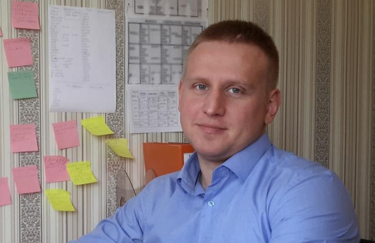 Андрей Шабан. Фото из личного архива