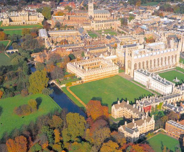Кембридж, Англия. Фото с сайта englishgid.ru