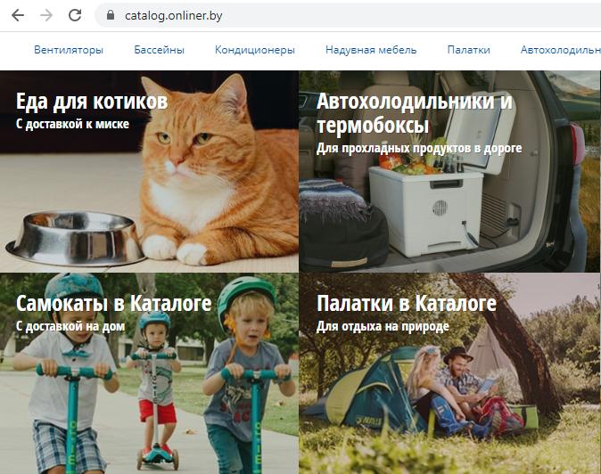 Скриншот с сайта Onliner.by