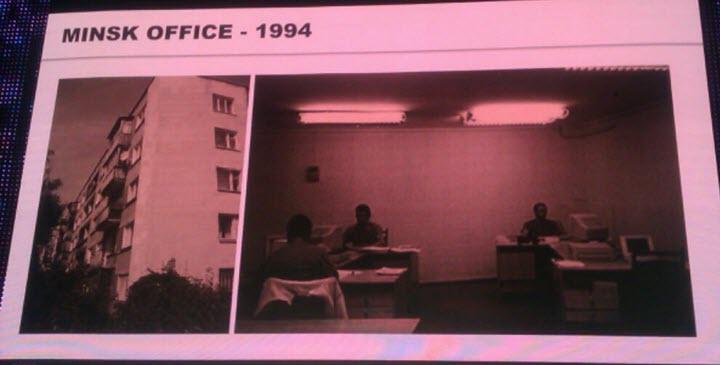 слайд из презентации Аркадия Добкина на конференции EPAM SEC