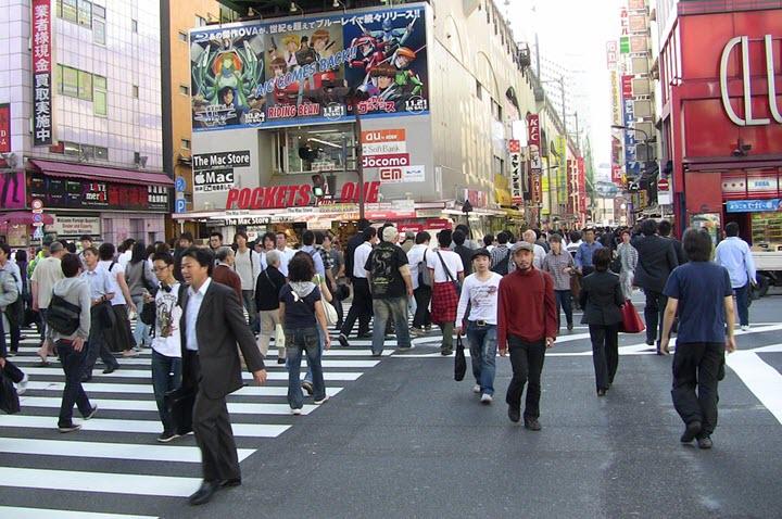 Токио сегодня. Фото с сайта pixabay.com