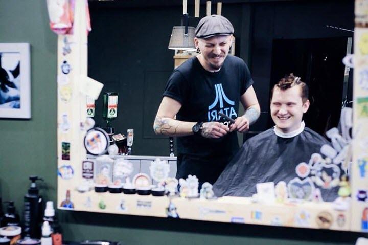 Фото со страницы CUT Barbershop на Facebook