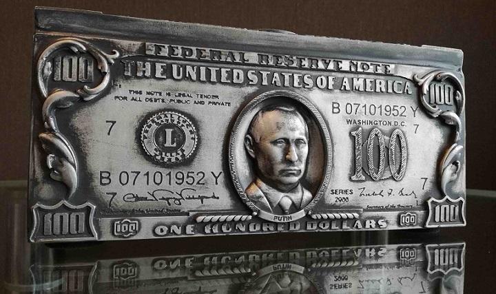 Один из сувениров Lucky Bucks. Фото предоставлено автором