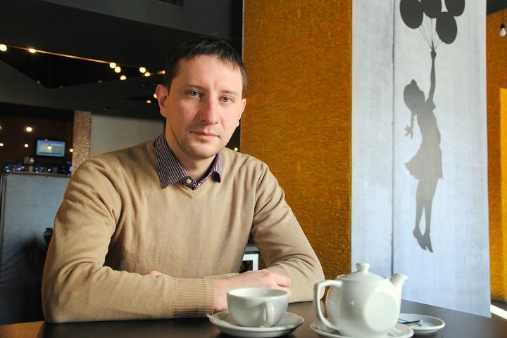 Денис Евдасев. Фото Анастасии Бондарович