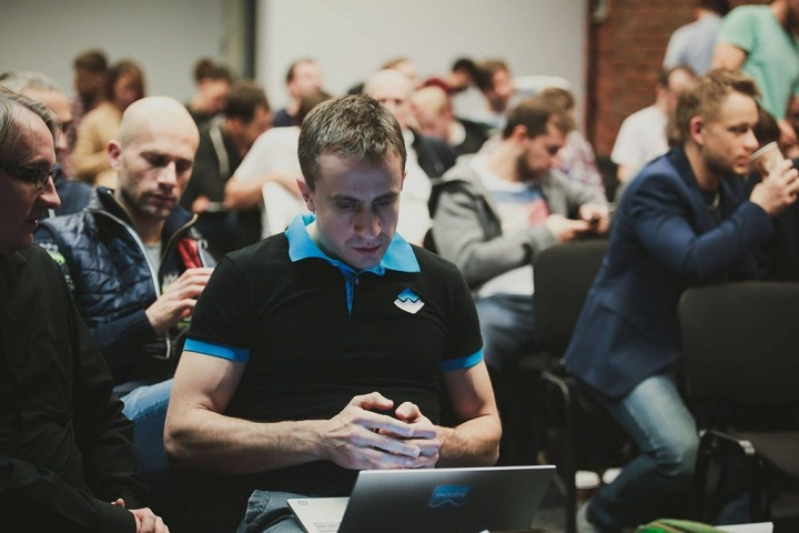 CEO и основатель Waves Platform Александр Иванов. Фото с сайта forklog.com