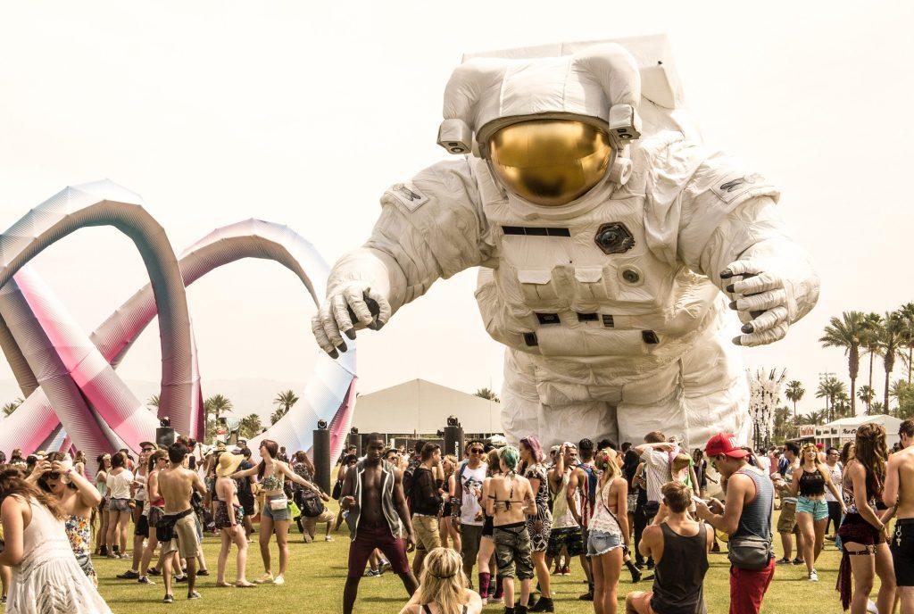 Фестиваль Coachella. Фото с сайта mediakix.com