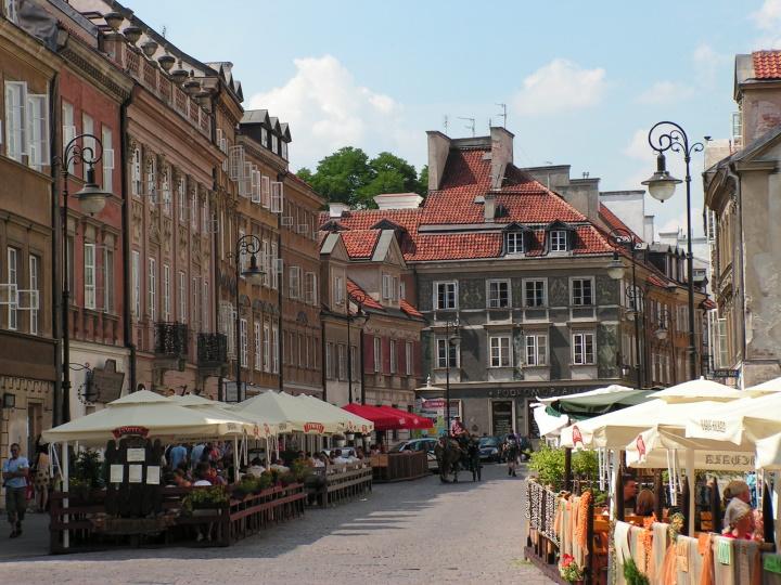 Варшава. Фото предоставлено героиней материала
