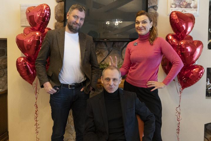 Максим Карабак, Константин Акимов, Наталья Бертош. Фото: probusiness.io