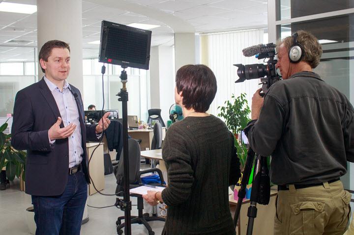 "Euronews в гостях у ""Про бизнес"""