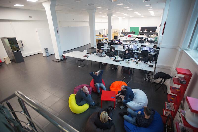 Офис kino-mo в Минске. Фото с сайта dev.by