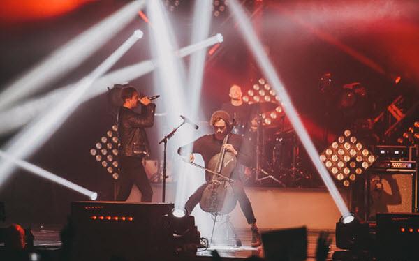 Концерт OneRepublic. Фото: TUT.by