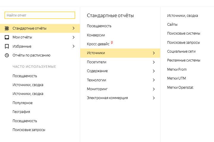 Отчет: источники, сводка. Скриншот предоставлен экспертом